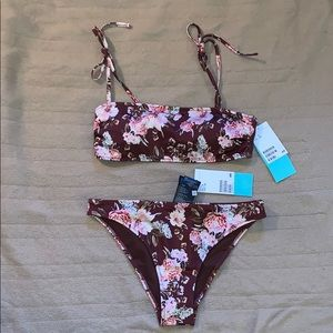 BRAND NEW! NEVER WORN!! H&M Flower Bikini.